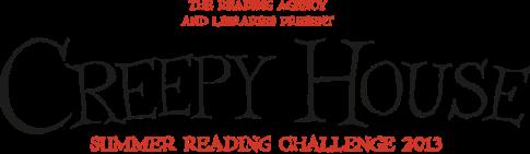 Creepy House Summer Reading Challenge